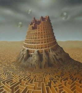 tower of babel andreas zielenkiewicz