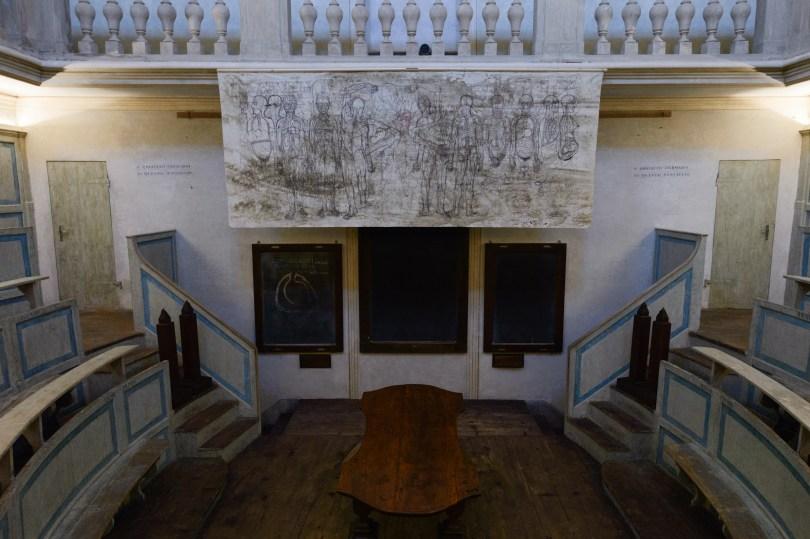 Hermann Nitsch, Ultima cena, Teatro Anatomico, Modena