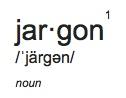 jargondef
