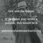 Grit and the Gospel