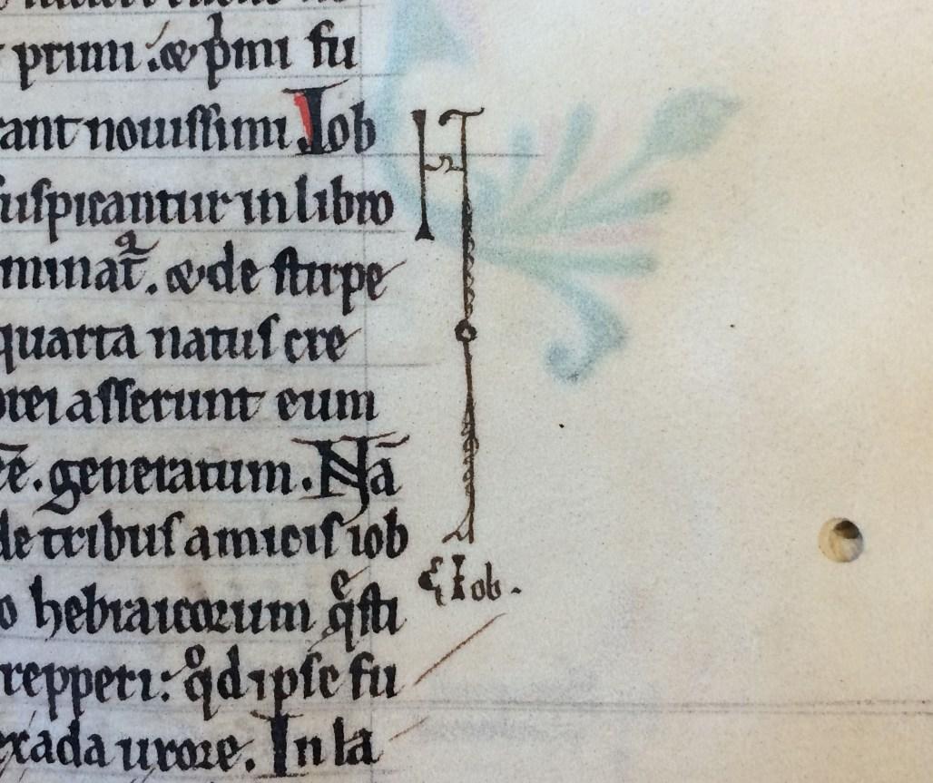 "Nota mark in ""De Universo"" (MS Hunter 366 (V.1.3))"