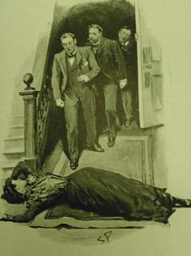 'Mrs Deacon was lying senseless' (RF 1145)