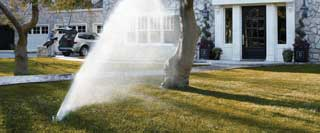 irrigation systems and landscape