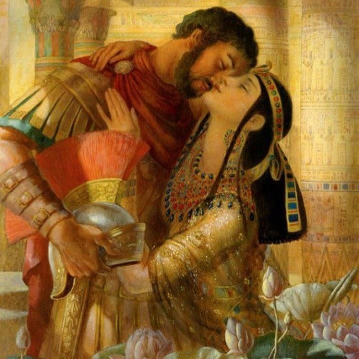 el rostro de Cleopatra
