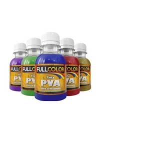 TINTA PVA FULLCOLOR 100ML-BRANCO