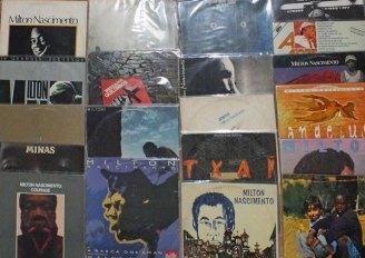 Alguns LPs da coleção pessoal do autor