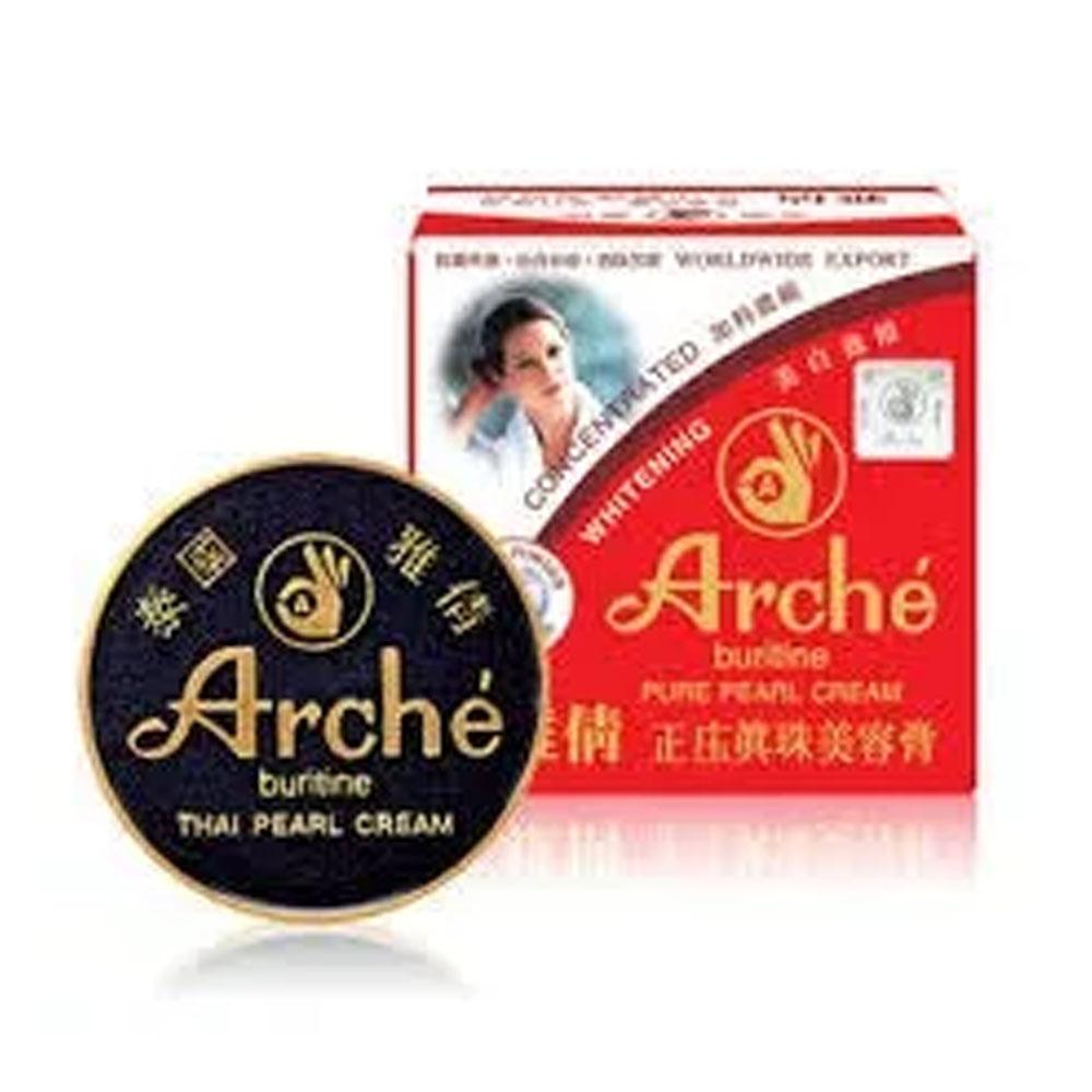Crema Arche Polvo De Perlas Manchas Blanquea Acne 15 Grs