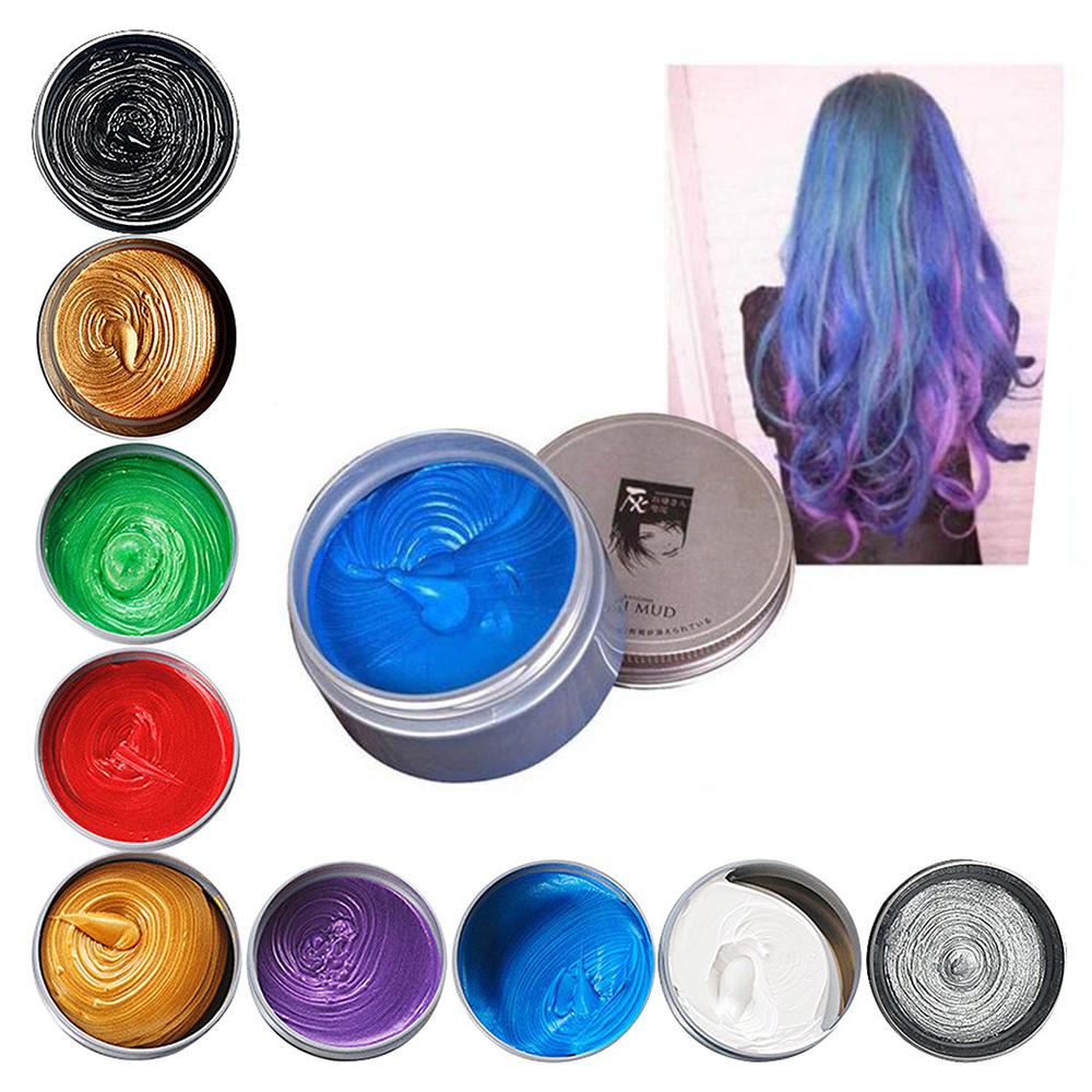 Hairstyle Silver Ash Mud Cera Peinar Mas Colores