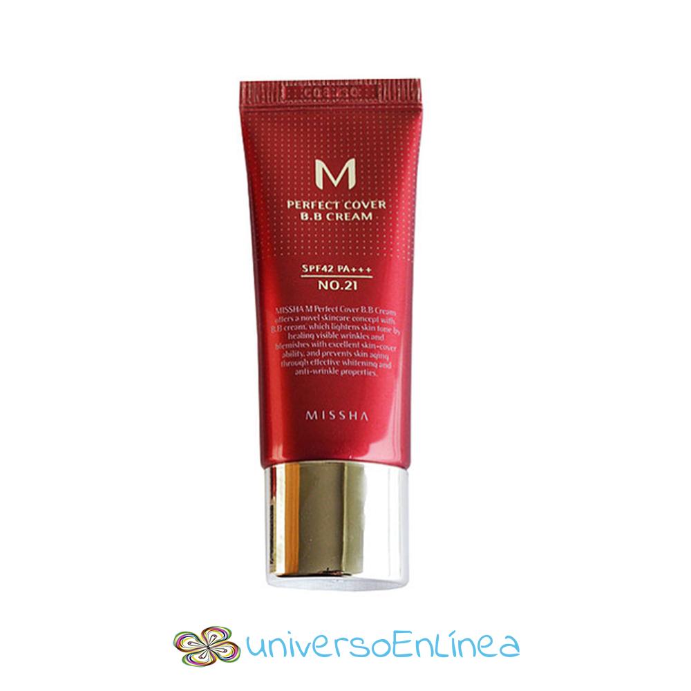 Missha M Maquillaje BB Cream Dos Tonos Anti-Arrugas 20ml