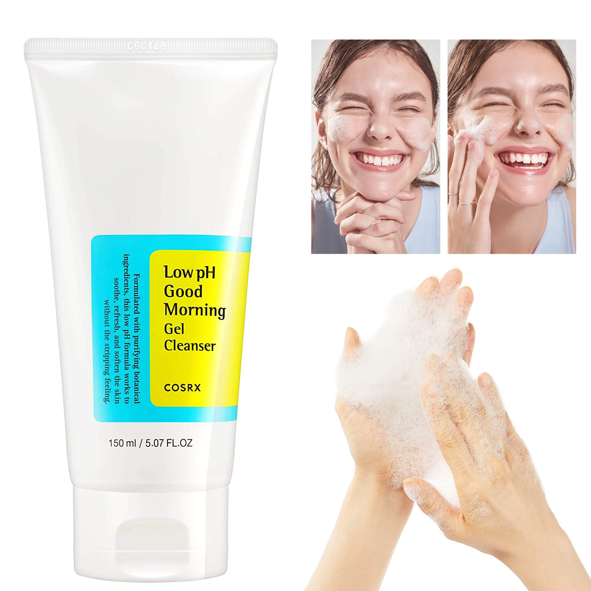 Gel Limpiador Coreano Cosrx Low Ph Good Morning Gel Cleanser 150 Ml