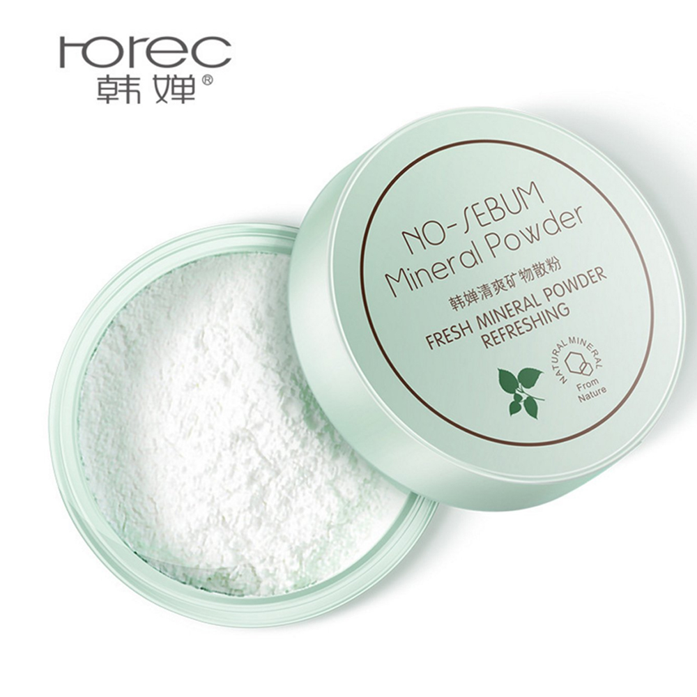 Rorec Polvo Mineral No-Sebum Control De Aceite Fijador Maquillaje
