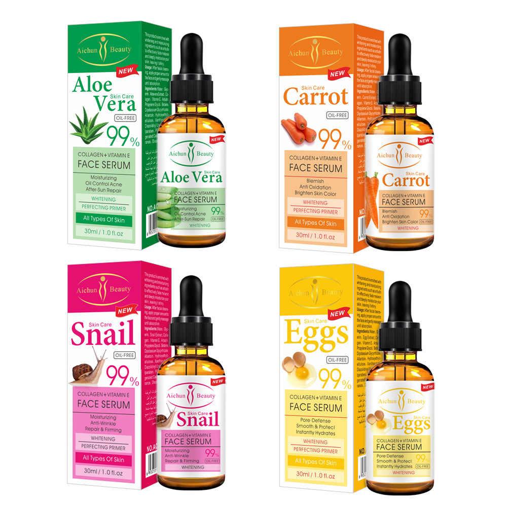 Aichun Set De 4 Pz Serum Facial Colágeno Vitamina E