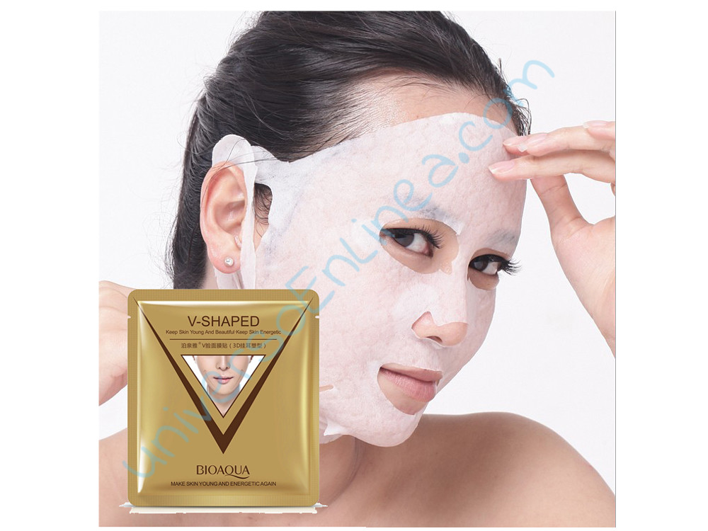 Mascarilla Lifting Facial V-Shaped Bioaqua Reafirmante