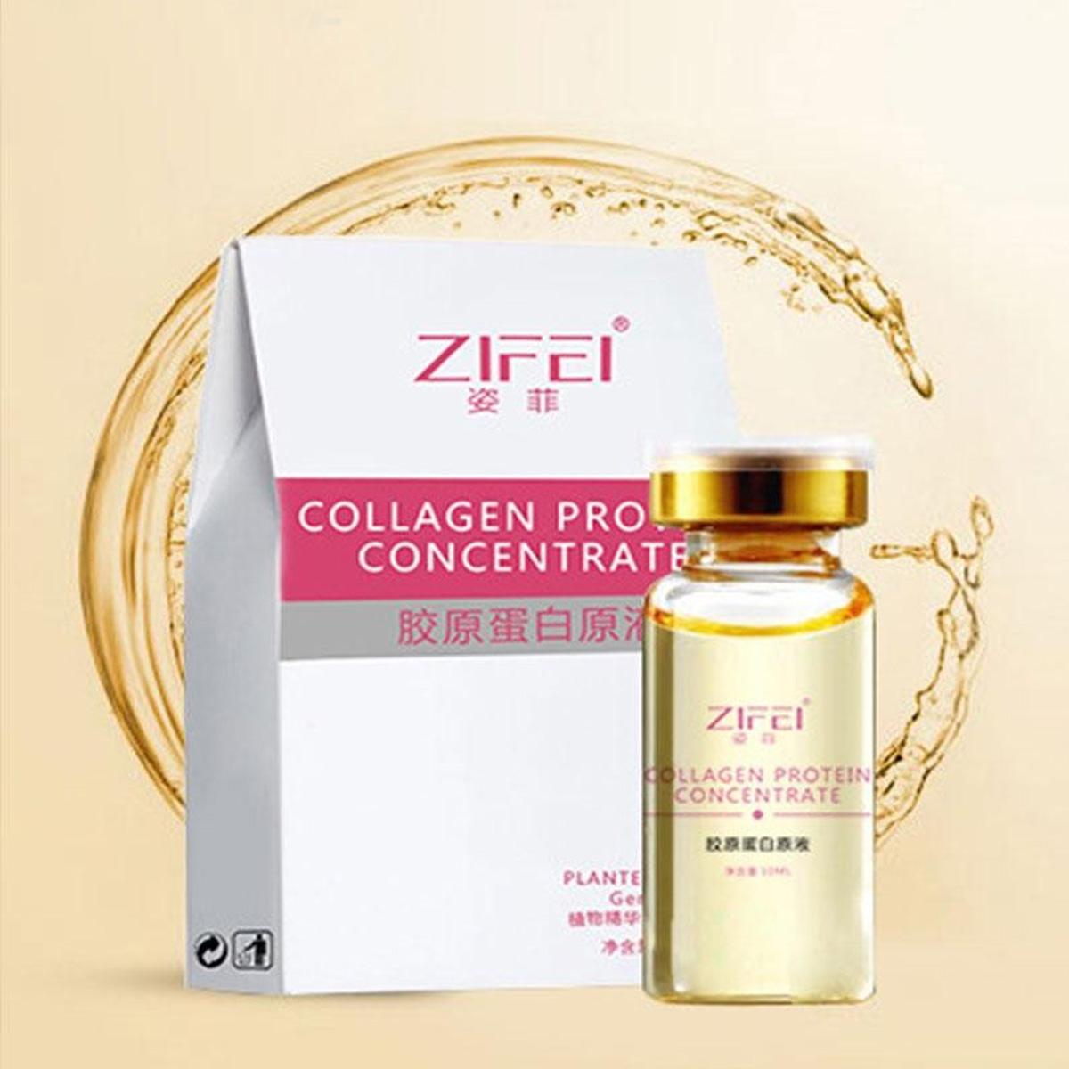 Proteína Hidratante De Colágeno Anti Envejecimiento Disminuye Arrugas Zifei 10ml