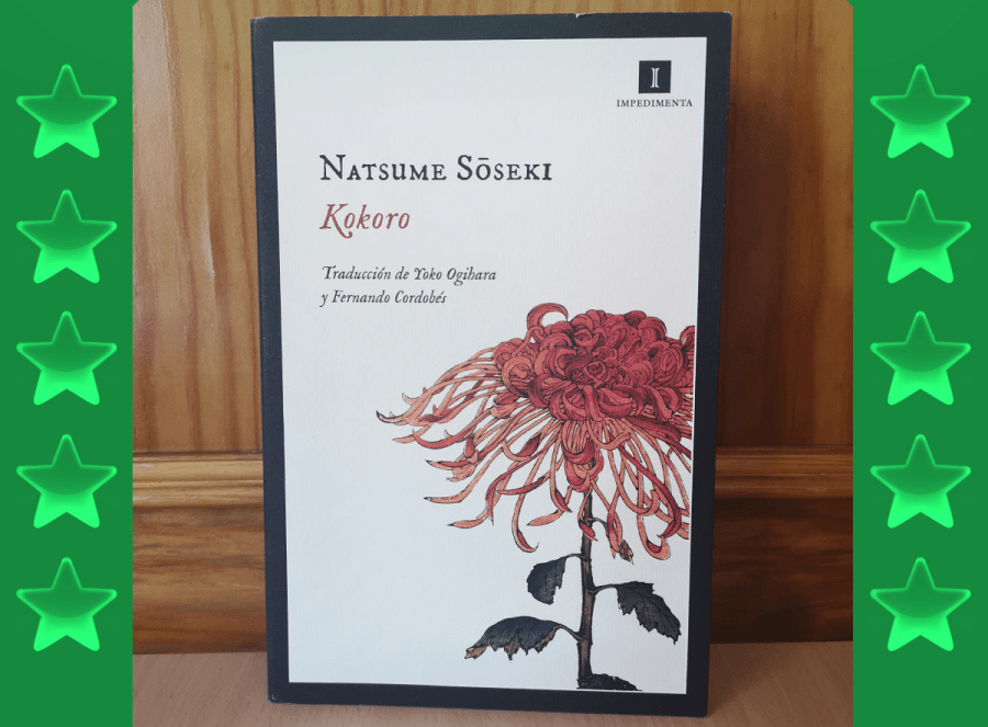 Foto del libro Kokoro de Natsume Soseki