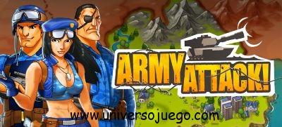 Army Attack, defiende tu planeta en este Juego para Facebook
