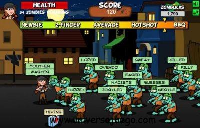 Zombie Typomaniac, mejora tu habilidad con el teclado en Facebook