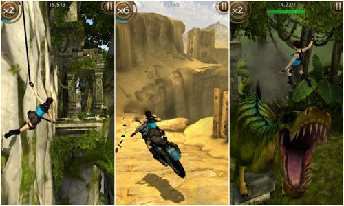 Lara Croft Relic Run para dispositivos móviles
