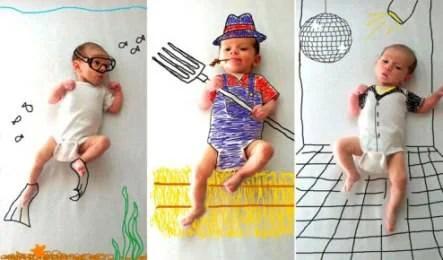 ambra wheeler fotoritocchi creativi bebè