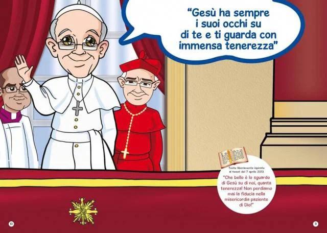 Papa: Francesco a fumetti