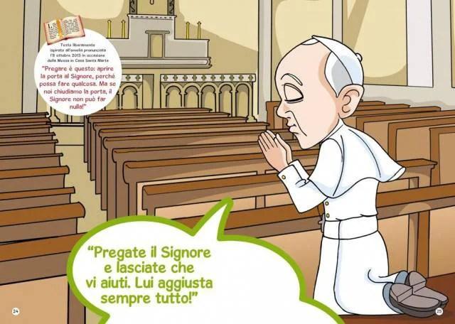 Papa: Francesco prega