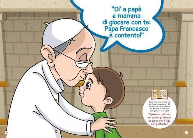 Papa Francesco predica la concordia