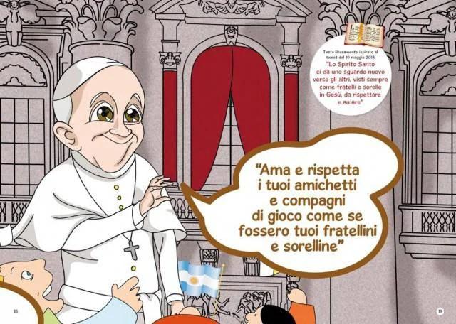 Papa Francesco predica l'amicizia