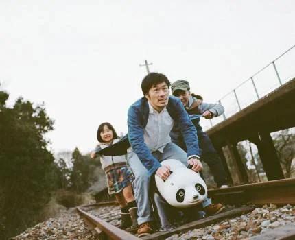 Nagano con le figlie