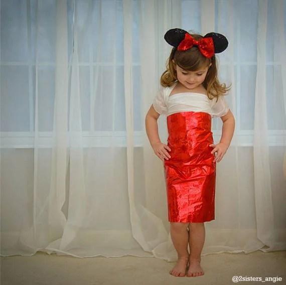 bimba tubino rosso carta