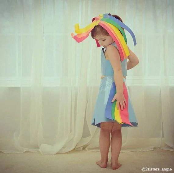 vestito carta bimba my little pony