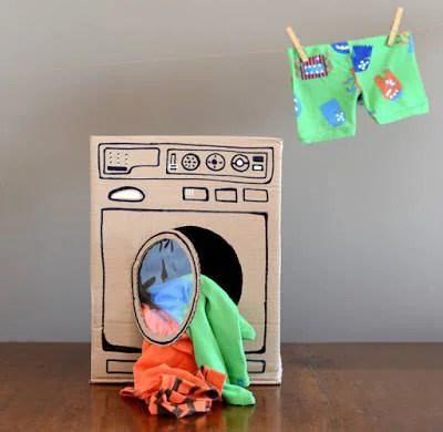 lavastoviglie di cartone