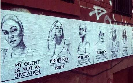 poster della campagna anti abuso