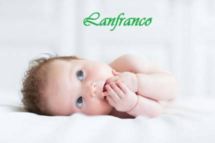 Lanfranco - Adorable blue eyed baby sucking on its fingers