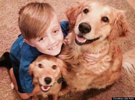 Ethan - bambino salva cani