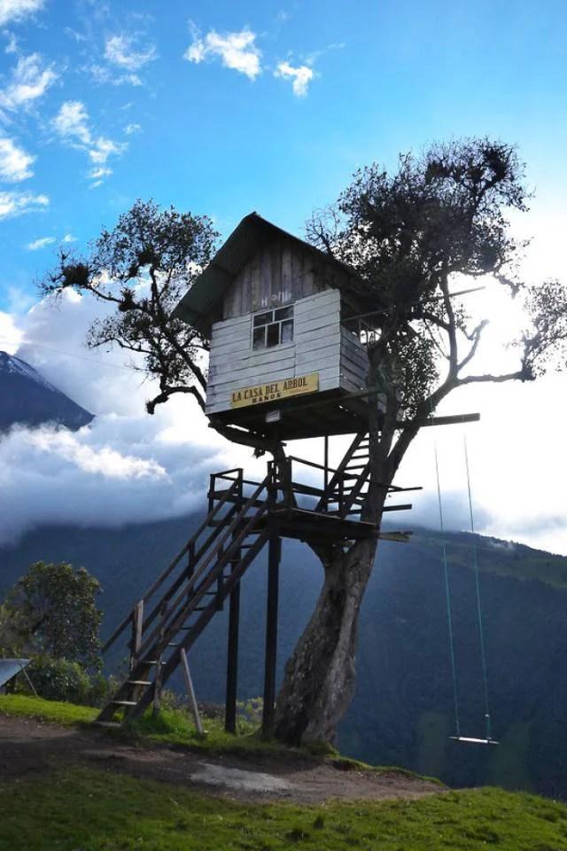 casa nella natura ecuador