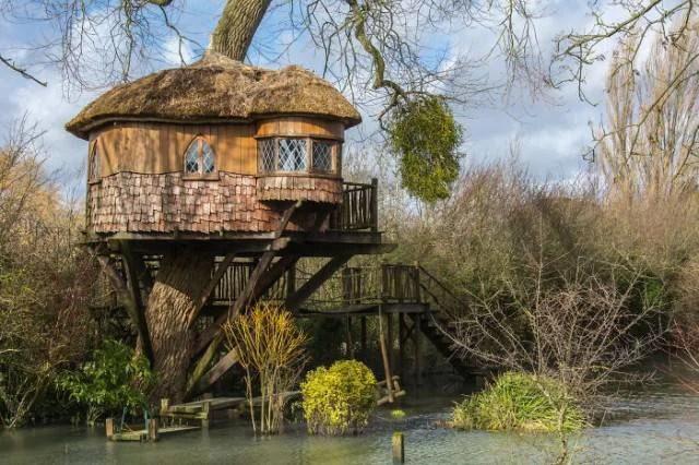 casa di legno in Uk
