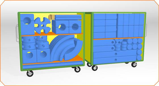 imagination playground storage