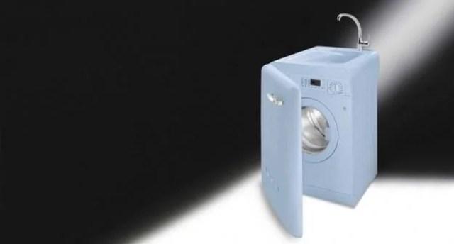 22 lavatrice con lavabo