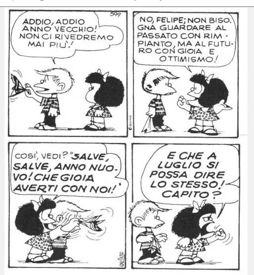 mafalda fumetto