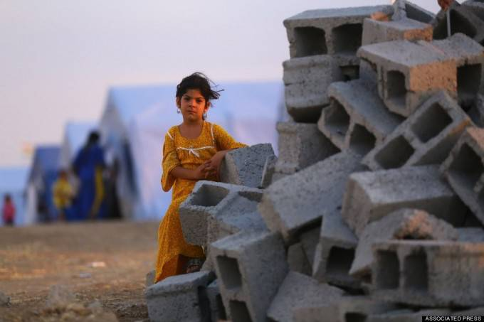 rifugiata irachena