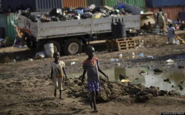 bimbi rifugiati dal sudan