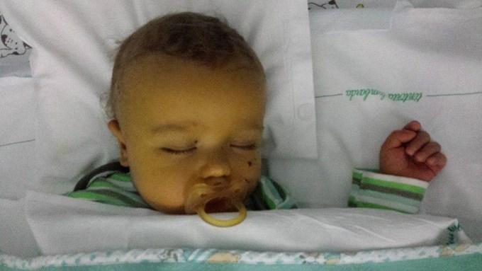 gabriele bambino del trapianto di fegato