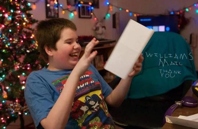 william thomas riceve lettere