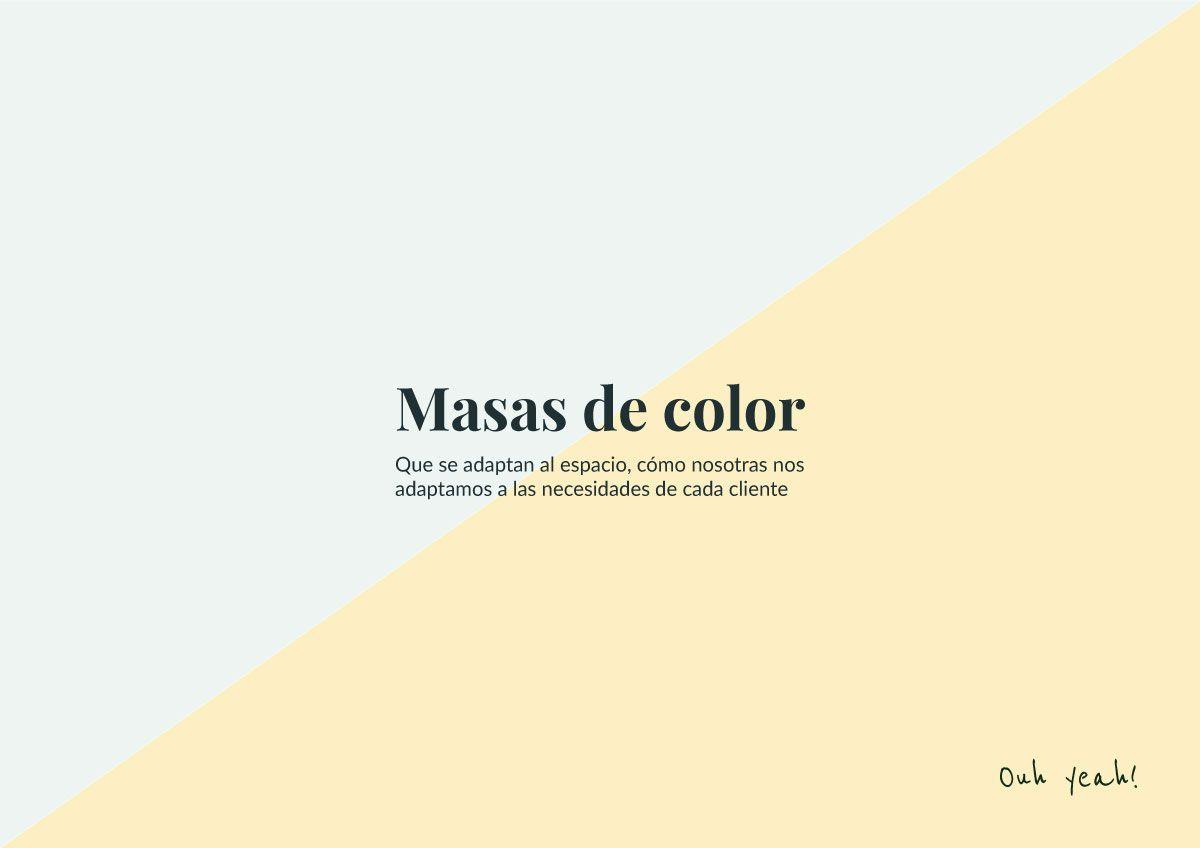 Inspiración uso color dous camiños