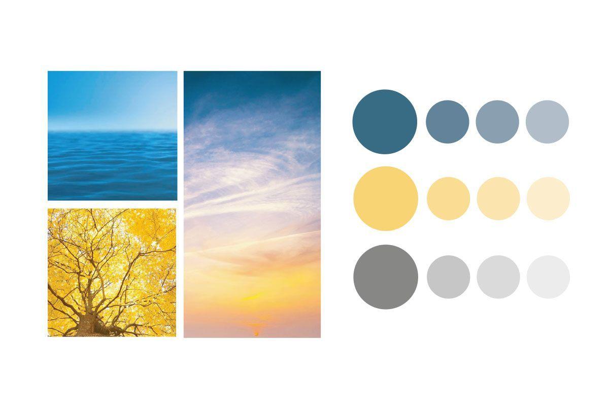 paleta de color Verbalízate, inspirada en la naturaleza