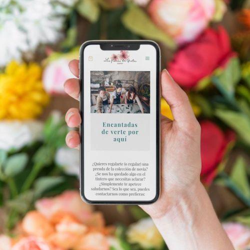 Imagen destacada diseño web Las Flores de Greta