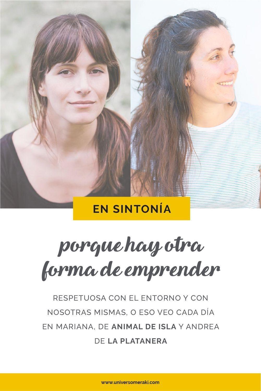 Mariana Matija de Animal de Isla y y Andrea de La platanera.