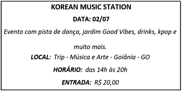 02 KOREAN MUSIC - Agenda
