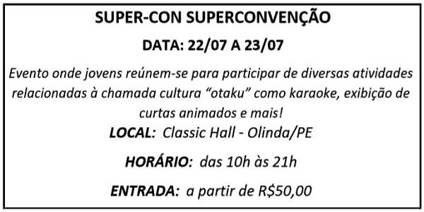 22 SUPER CON - Agenda
