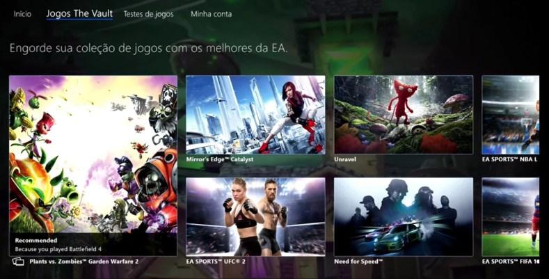 ea access jogos the vaultjpg - EA Access Fácil!